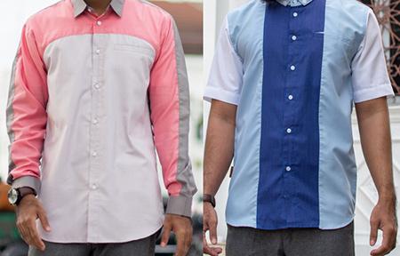Kain Katun - koko modern - baju muslim pria - Fadkhera